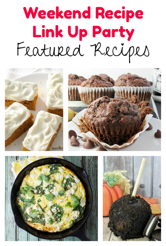 Weekend Recipe Link Up Party featured recipes 79