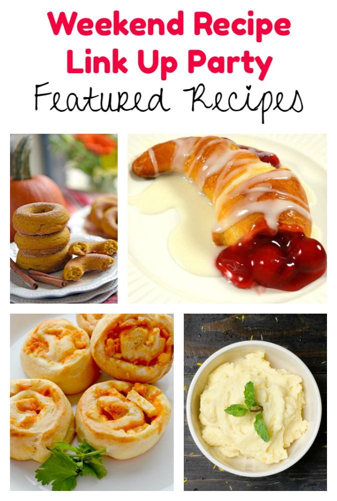 Weekend Recipe Link Up Party featured recipes 86