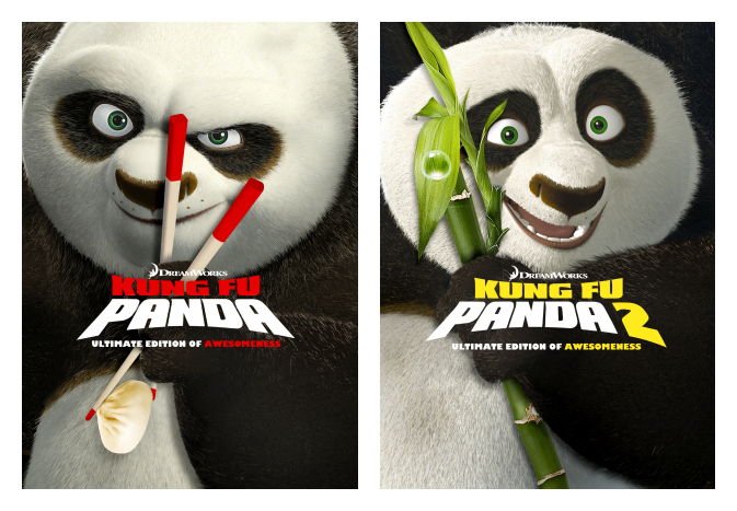 Kung Fu Panda 1 and 2