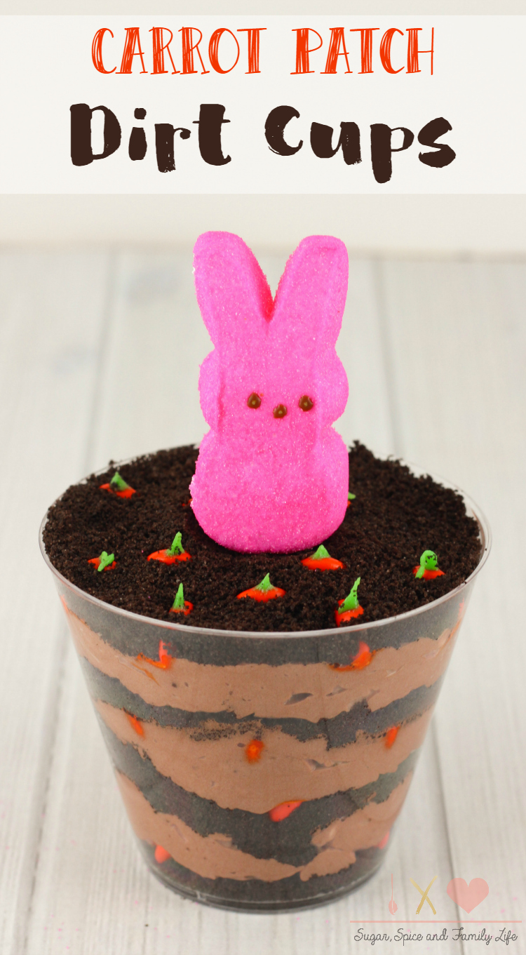 Carrot Patch Dirt Cups
