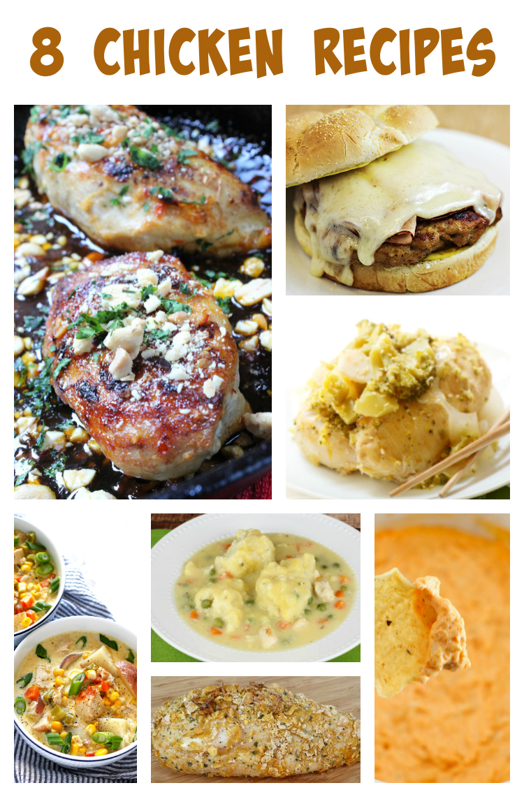 8 Chicken Recipes