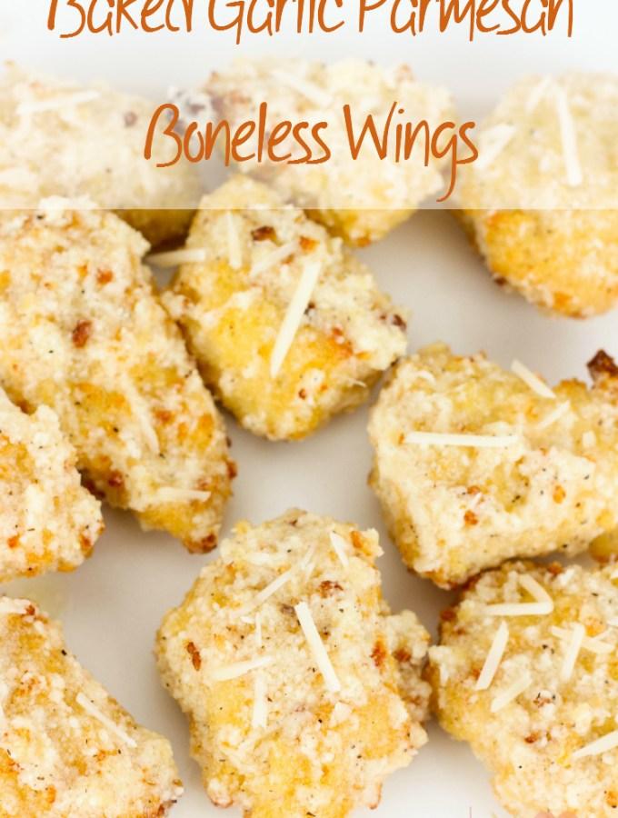 Baked Garlic Parmesan Boneless Wings