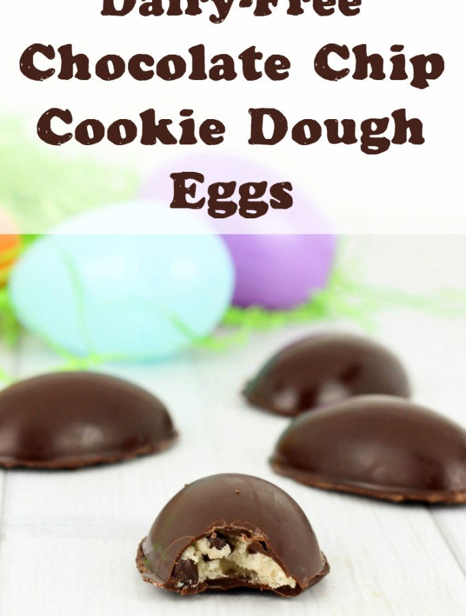 Dairy-Free Chocolate Chip Cookie Dough Eggs Recipe