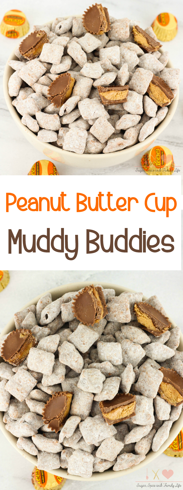 Peanut Butter Cup Muddy Buddies Recipe