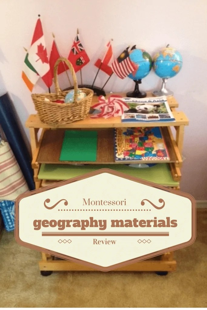 Montessori Materials Review Geography Sugar Spice And