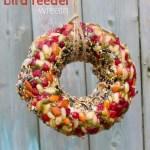 Kid Made Bird Feeder Wreath With Video Sugar Spice And Glitter