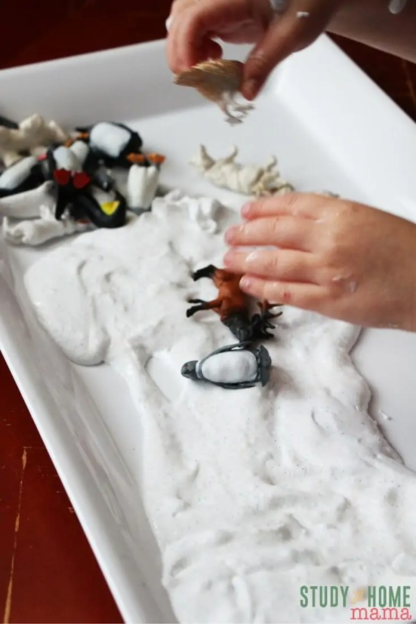 Frozen Snow Slime Sugar Spice and Glitter