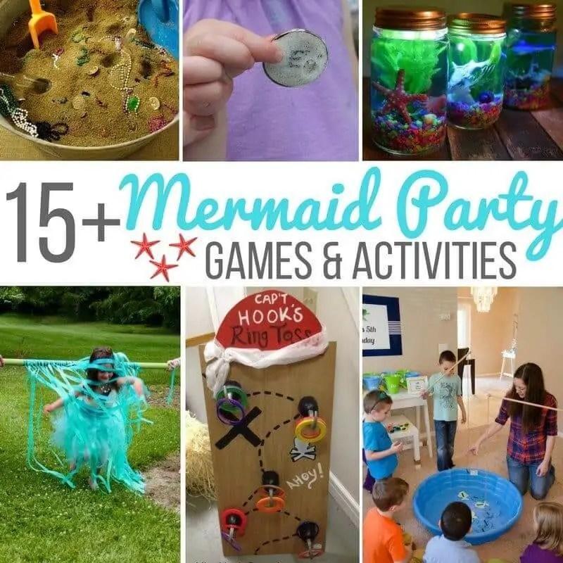 15 mermaid party games