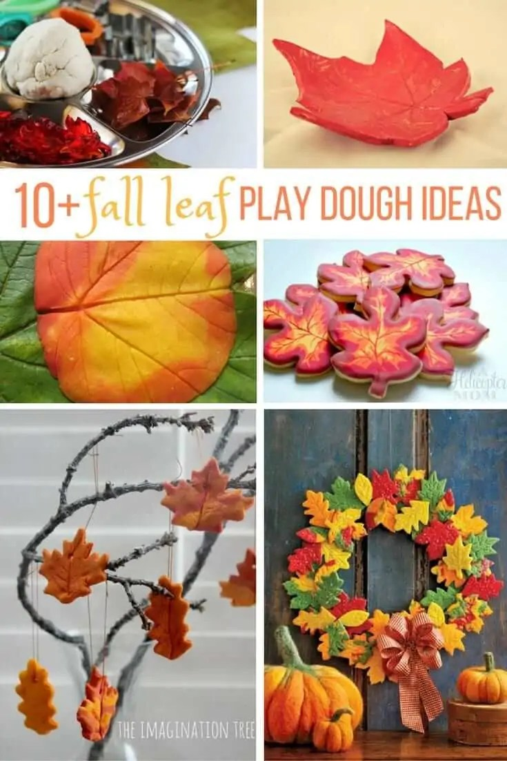 10 leaf play dough