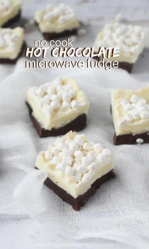 hot chocolate fudge sugar spice and