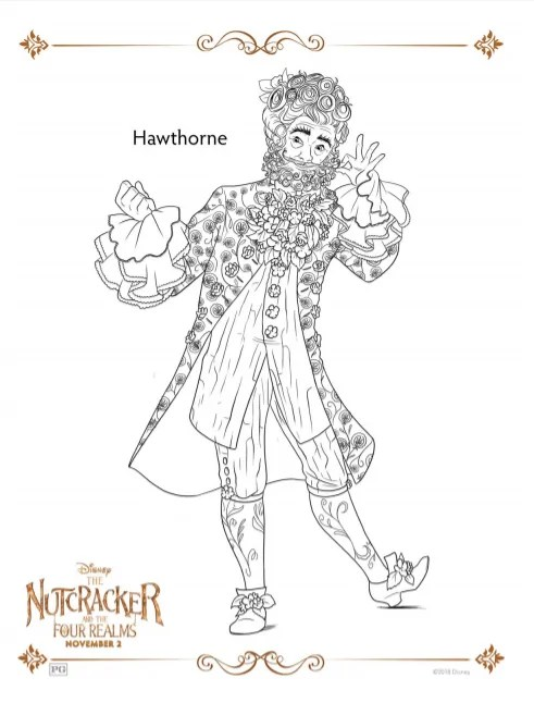 Nutcracker Coloring Sheets and Activity Pages ⋆ Sugar