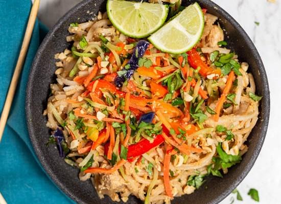 Asian Noodles with Peanut Sauce