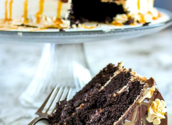 Chocolate Caramel Cake