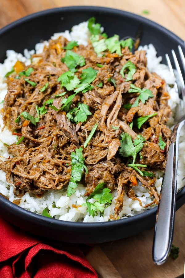 Barbacoa Beef (Instant Pot or Slow Cooker)