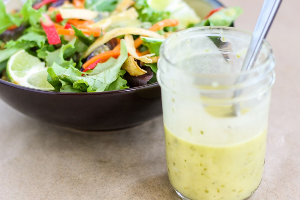 Honey Lime Vinaigrette. Quick and easy to make. Tastes fresh, delicious, and amazing. It'll change your attitude on store bought salad dressing.