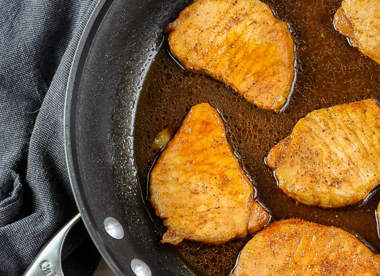 Sweet and Salty Pork Chops