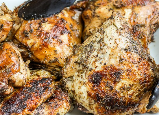 Instant Pot Roasted Balsamic Chicken