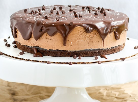 Nutella Mousse Cake