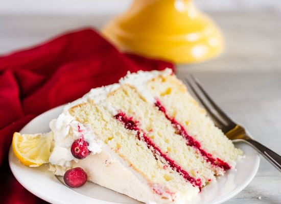 Lemon Cranberry Cake
