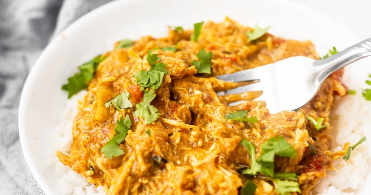 Instant Pot Coconut Curry Chicken