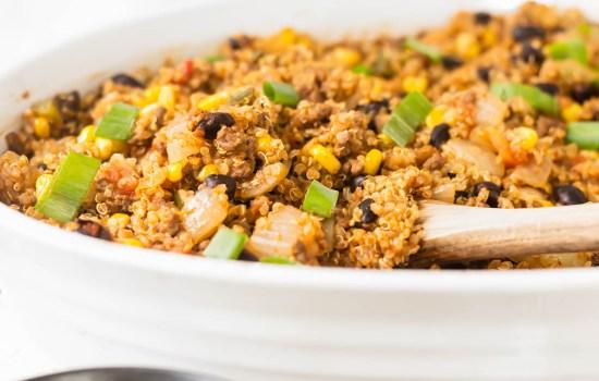 Quinoa Beef Bake