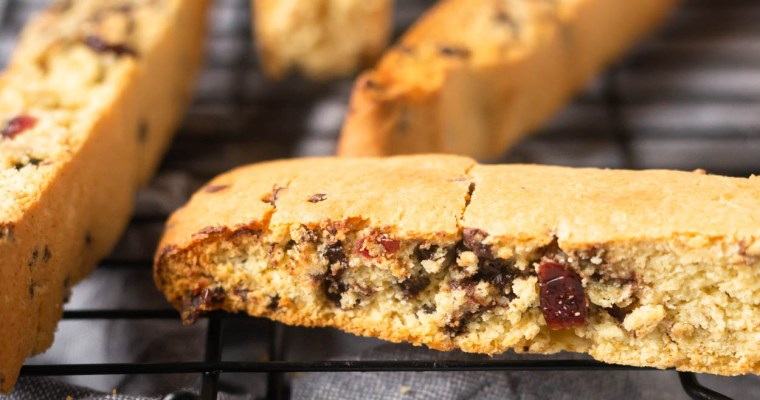 Orange Cranberry Biscotti