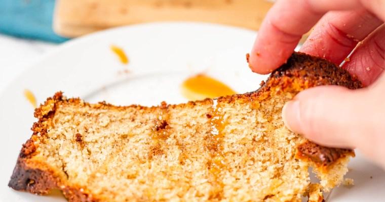 Caramel Banana Bread