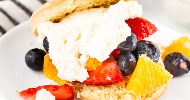 Orange Berry Shortcake