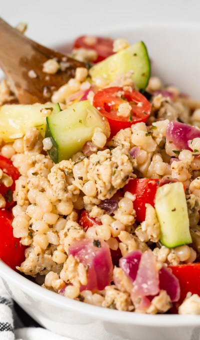 Chicken and Pearl Couscous Salad