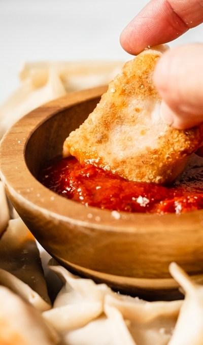 Lasagna Style Potstickers