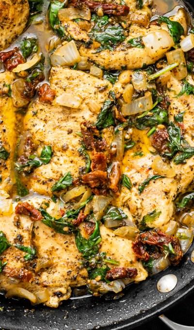 Skillet Tuscan Chicken