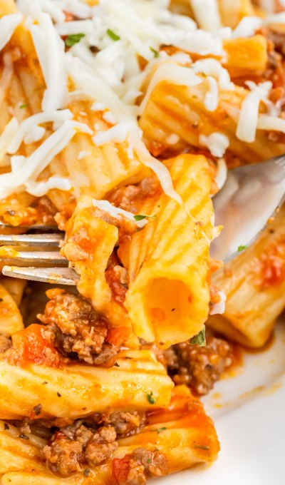 Instant Pot Inauthentic Pasta Bolognese
