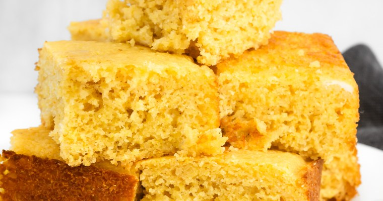 Sweet Maple Cornbread