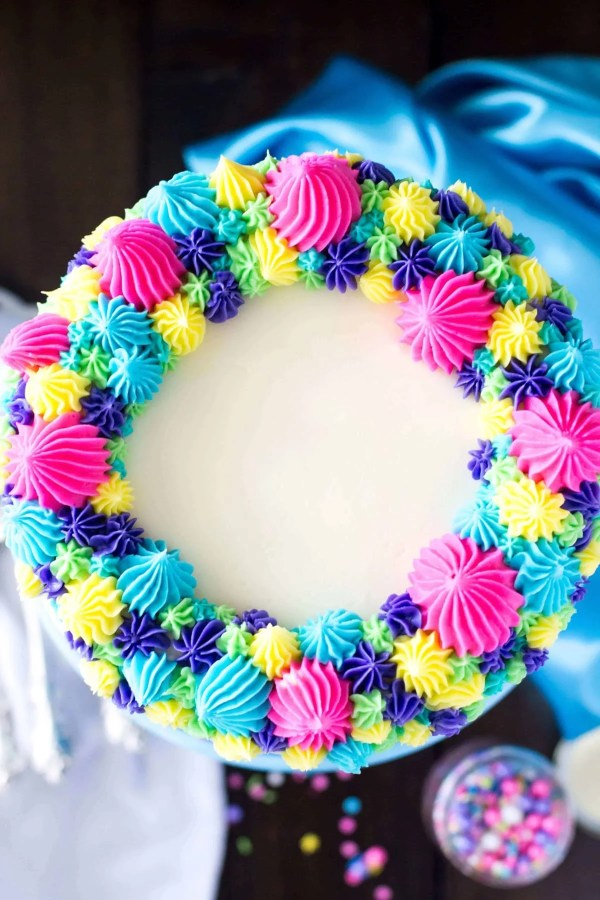 Funfetti Cake Scratch & Merry Unbirthday