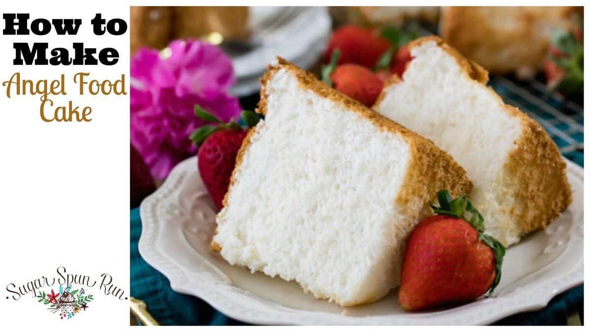 Angel Food Cake Sugar Spun Run