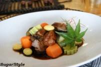 豚肩ロースの梅味噌煮
