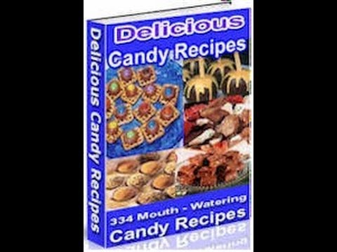 """""""Candy Recipes"""" Cook Book (Master Resale Rights Package)"""