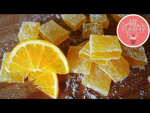 Russian Lemon Candy Recipe   Marmelad Recipe   Mармелад