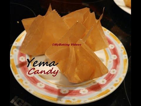 Making Yema Candy