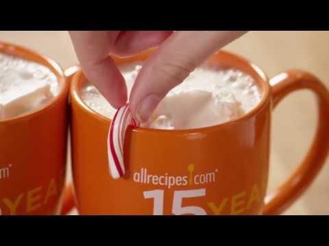 How to Make Candy Cane Cocoa | Christmas Recipes | Allrecipes.com