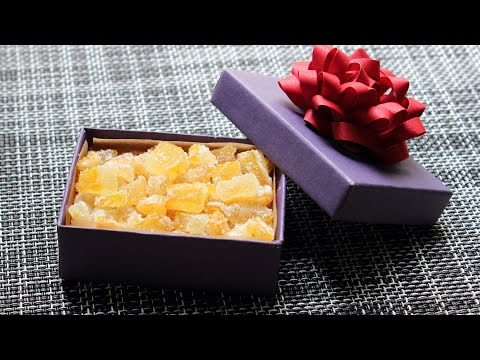 """Candied """"Buddha's Hand"""" Citron – How to Candy Citrus for an Edible Gift"""