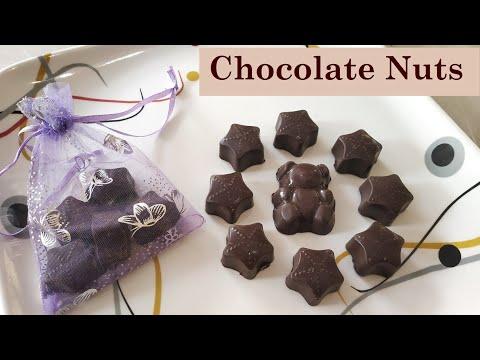 Chocolate Nut | Healthy Chocolate Candy | Homemade Chocolate Recipes 🍫