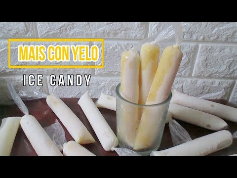 Mais Con Yelo Ice Candy   Sweet Corn Ice Candy   Mais Ice Candy Recipe