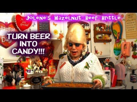 Hazelnut Beer Brittle : Trailer Park Valentine's Day Candy Recipe