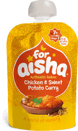 For Aisha Chicken and Sweet Potato Curry (pouch)