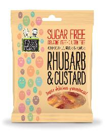 Free From Fellows Rhubarb & Custard 70g