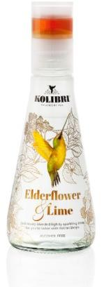 Kolibri Drinks Elderflower & Lime