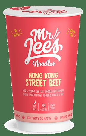 Mr Lee's Noodles Hong Kong Street Beef