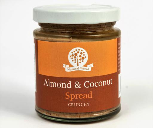 Nutural World Almond and Coconut spread - Crunchy