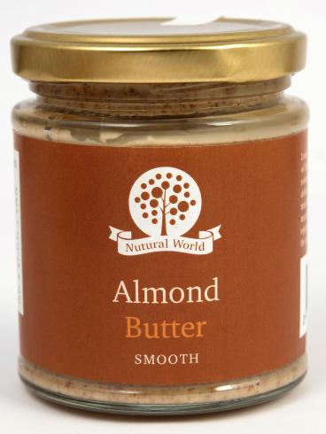 Nutural World Almond butter - Smooth